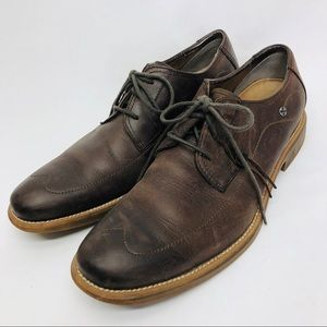 Marc Nason  Lounge lace up leather brown 9.5